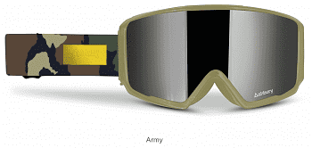 Маска ASHBURY ARROW GOGGLES + YELLOW SPARE LENS SS20
