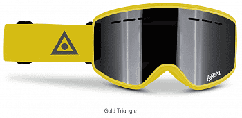 Маска ASHBURY MIRAGE GOGGLES + YELLOW SPARE LENS SS20